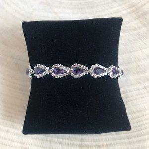 Jewelry - Amethyst Crystal Bracelet